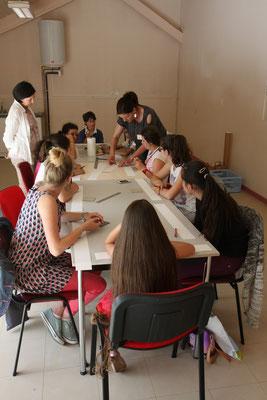 L'atelier réalisation d'un livre-accordéon