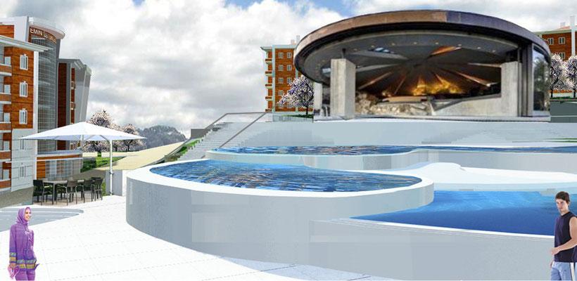 Therme Anlage - Therme Schwimmbad & Gesundheitszentrum