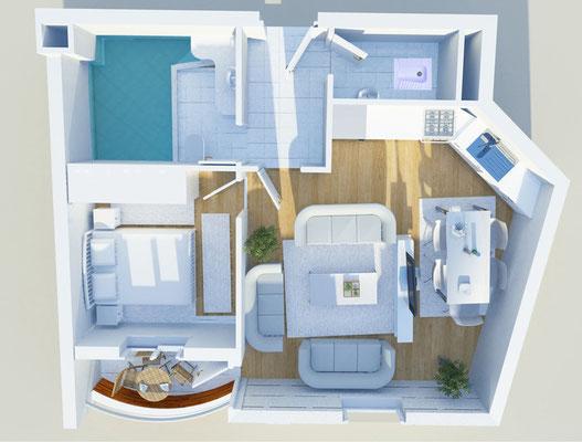 Therme Anlage - Wohnungstyp 1