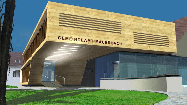 GEMEINDEAMT MAUERBACH ÖSTERREICH 2008 WETTBEWERB 1. PLATZ