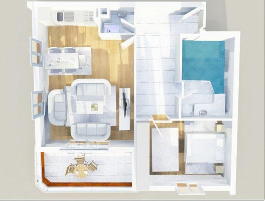 Therme Anlage - Wohnungstyp 3