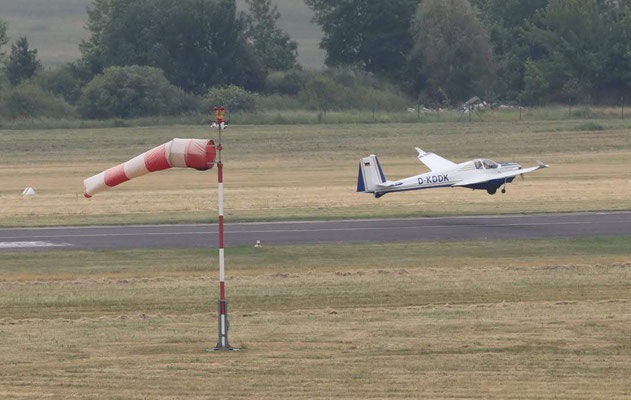 Jungfernflug mit Winglets