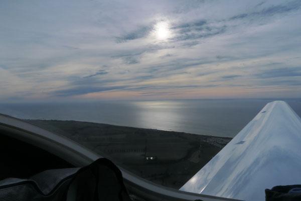 Rückflug am Sonntag: goodbye Ostsee