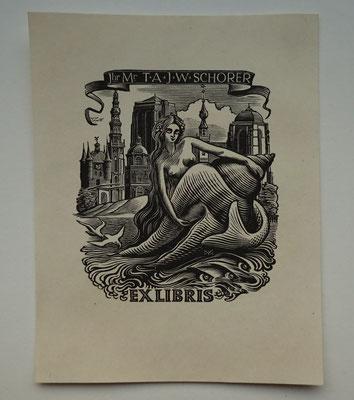 Dirk van Gelder. Middelburg, Zierikzee en Veere. Houtgravure.Losbladig.