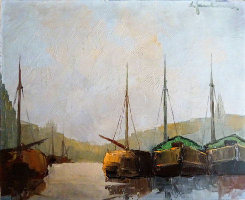 L. Jordaens olieverf schilderij