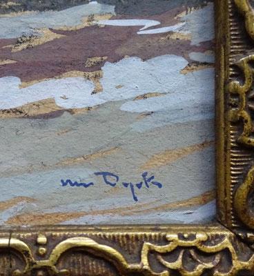 Signatuur a.j. (Alfons) van Dijck