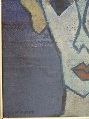 Links onder met signatuur Met jaartal '38.