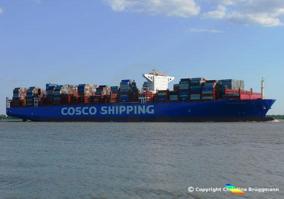 20.000 TEU Containerschiff COSCO SHIPPING GEMINI