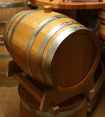 56 Liter Barriquefass aus Eichenholz