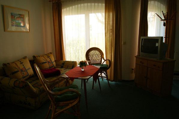 Apartment mit Miniküche & Aufbettung