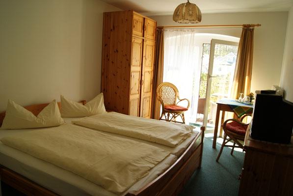 Kleines Doppelzimmer mit Terrasse