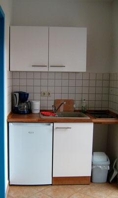 Küche im Apartment & Ferienwohnung