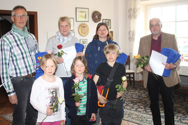 Familienwettbewerb Familie Schwenteck, Familie Lüth