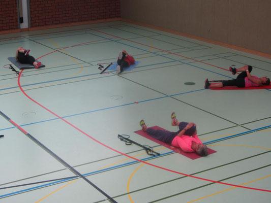Workout mit dem Gymstick (TM) bei Petra Krambeck