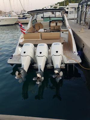 Sportboot mit viel PS