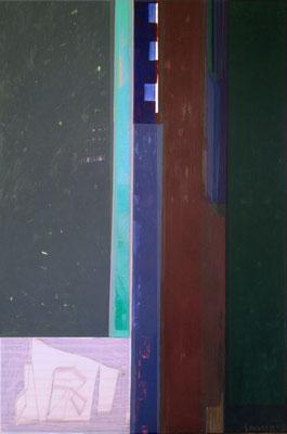 Herbst, 150x100, Acryl, Kohle a. Leinwand, 2020