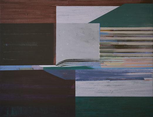 In`s Licht,100x130,Acryl auf Leinwand, 2020
