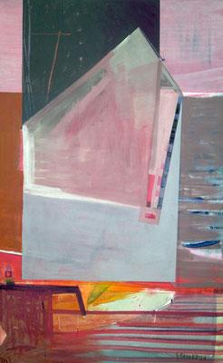 Traumhaus der Malerin,150x100,Acryl a. Leinwand,2017