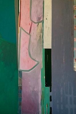 Frühling,150x100, Acryl a. Leinwand, 2010