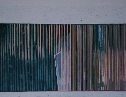 sichtbar- verborgen,  100x130 Acryl a Leinwand 2019