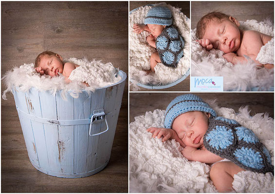Fotograf für Geburtskarte