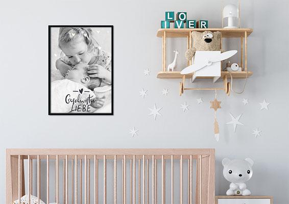 Baby Poster fürs Zimmer