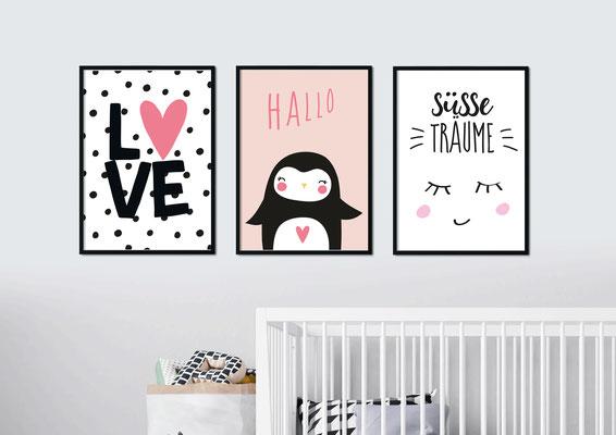 Babyzimmer Poster