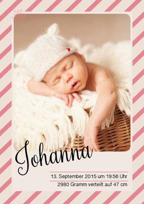 Online shop für Babykarten