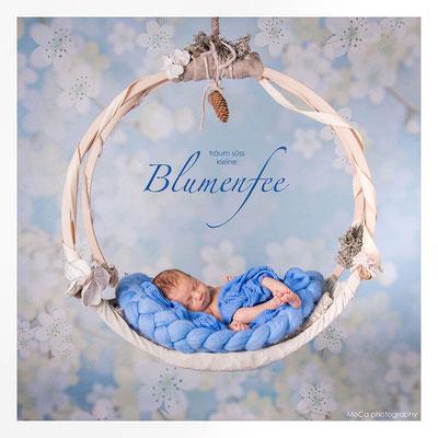 Geburtsanzeige mit Foto für Jungs