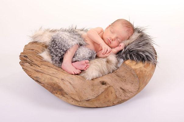 Geburtsanzeige modern mit Foto