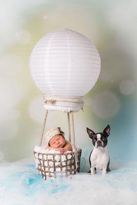 Geburtsanzeige mit Foto