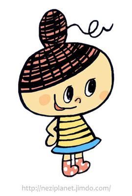 株式会社 山忠(加茂市)/ webサイトのキャラクター『糸ぼうや』(2011)