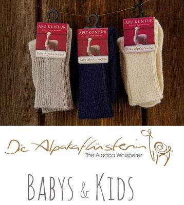 Alpakasocken Kinder, Alpaka Socken für Kinder, Alpaka-Socken Babys, Alpaka Baby Söckchen