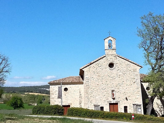 Chapelle Saint Férréol (route d'Oppedette)
