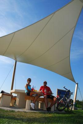 cycling around Mörbisch