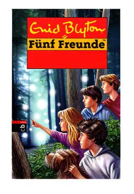 Titel: Fünf Freunde im Wald, Kunde: Random House, Technik: Bleistift, Acryl, Photoshop, Entstehung: 2011