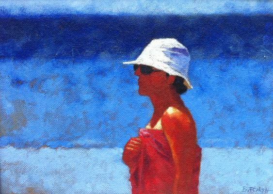 Summer, Öl auf Hartfaser, 41 x 29 cm
