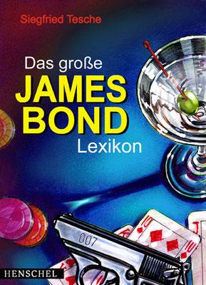 Titel: James Bond-Lexikon, Kunde: Henschel Verlag, Technik: Fineliner, Marker Stifte, Buntstift, Airbrush, Entstehung: 2002