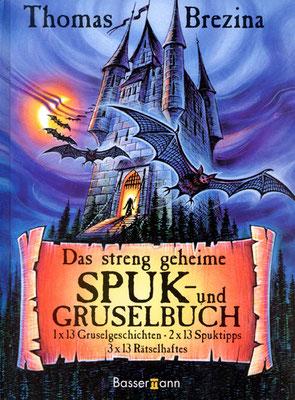 Titel: Spuk-und Gruselbuch, Kunde: Bassermann-Verlag, Technik: Fineliner, Markerstifte, Buntstift, Airbrush, Entstehung: 2008