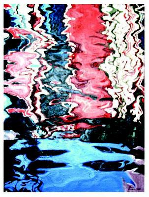 Venice Reflection, Öl auf Leinwand, 50 x 70 cm