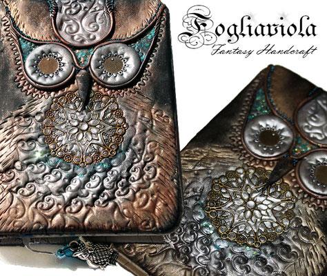 Original Owl Fogliaviola style