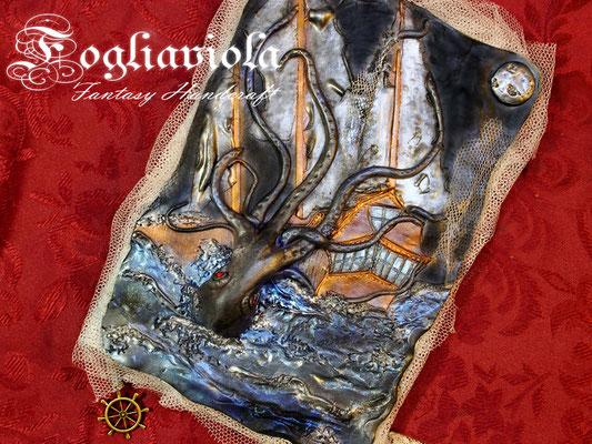 The kraken Journal, a legendary fantasy book