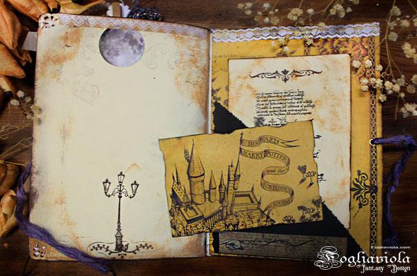 Harry Potter Junk Notebook