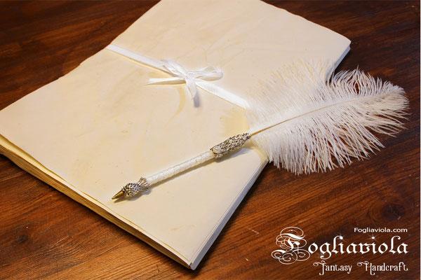 carta pergamena per matrimonio