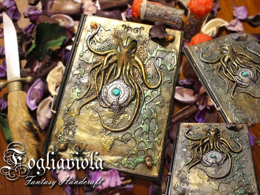 The Rise of Cthulhu journal original design Fogliaviola