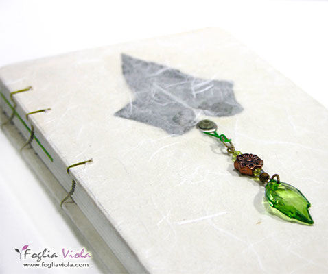 Ivy white enchanted guestbook