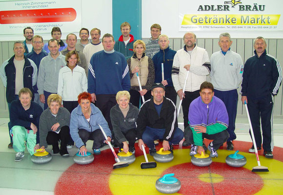 Curling Club Kaltbrunn - Anfängerkurs 2001