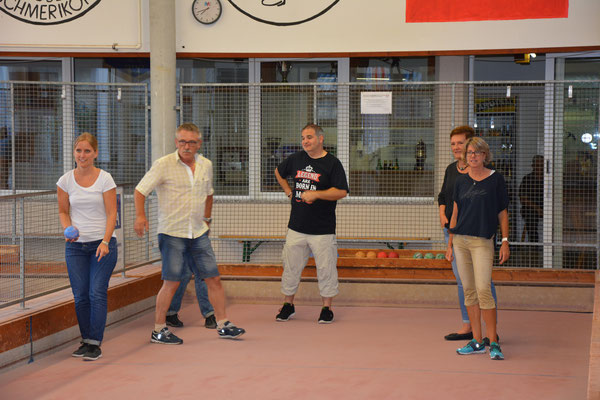 Curling Club Kaltbrunn - Sommerplausch Boccia 2017