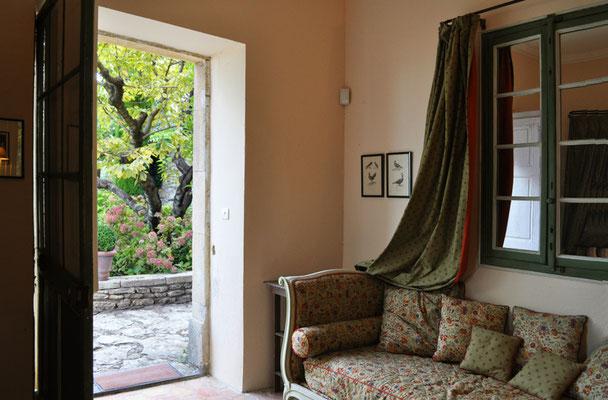Rosa Haus - ein weiteres kleines Schlafzimmer mit eigenem Eingang im Rosa Haus