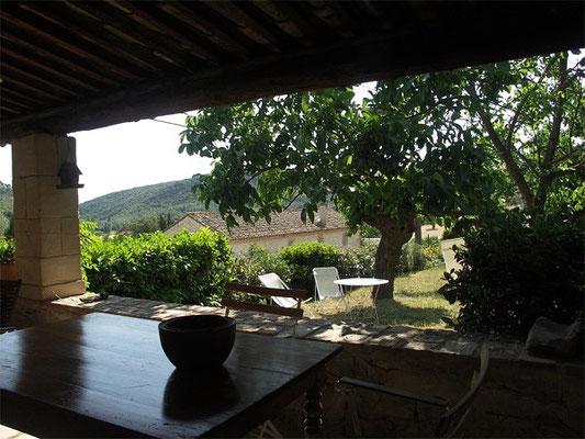 Les Peyrières - Ausblick in die friedliche Umgebung